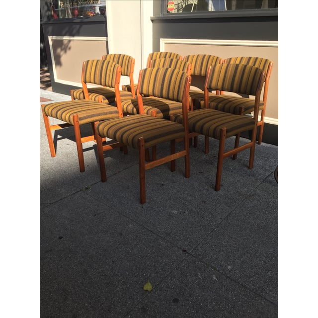 Spottrup Danish Teak Dining Chairs - Set of 8 - Image 3 of 10