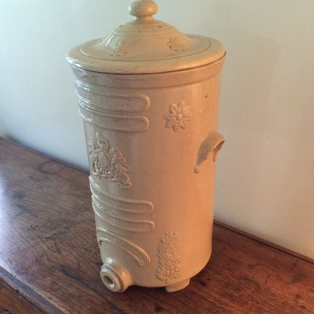English Ceramic Water Purifier Circa 1880s For Sale - Image 7 of 7
