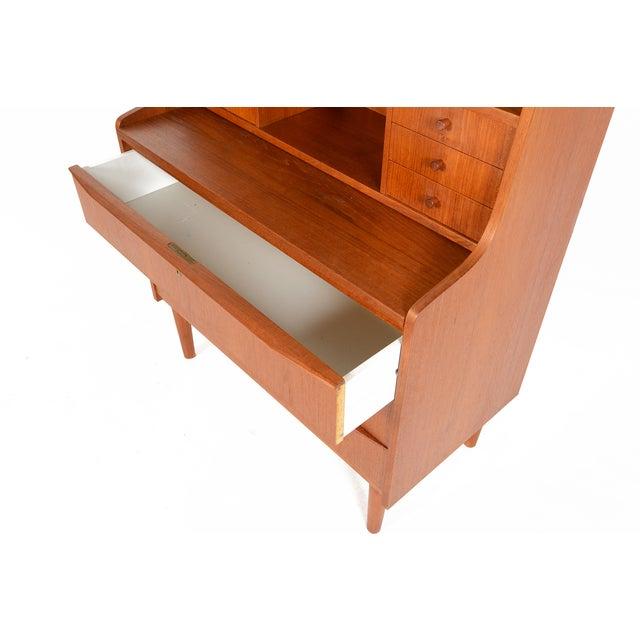 Danish Modern Secretary Bookcase - Image 9 of 10