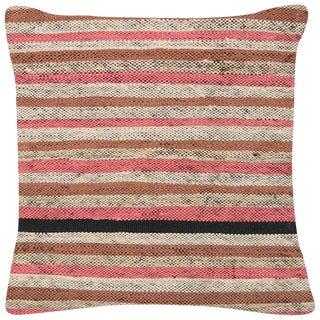 "Nalbandian - Turkish Rag Pillow - 16"" X 16"" For Sale"