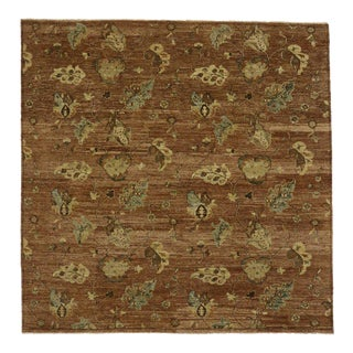 Transitional Square Rug With Modern Style - 07'11 X 07'11 For Sale