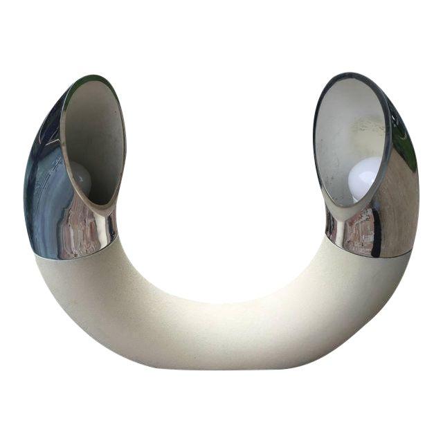 E. Bosi Rare Sculptural Italian Table Lamp by E. Bosi For Sale - Image 4 of 4