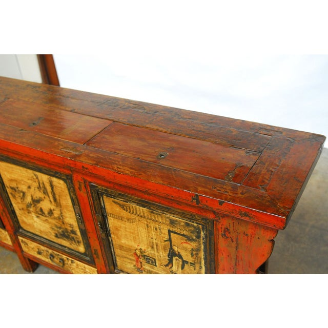 19th Century Chinese Server Sideboard Buffet For Sale - Image 4 of 9