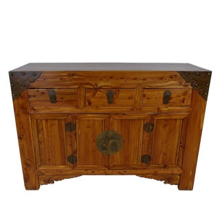 Mid 19th Century Chinese Antique Shan XI Sideboard For Sale