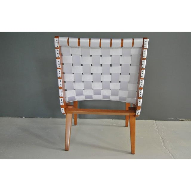 Mid 20th Century Lounge Chair by Jens Risom For Sale - Image 5 of 9