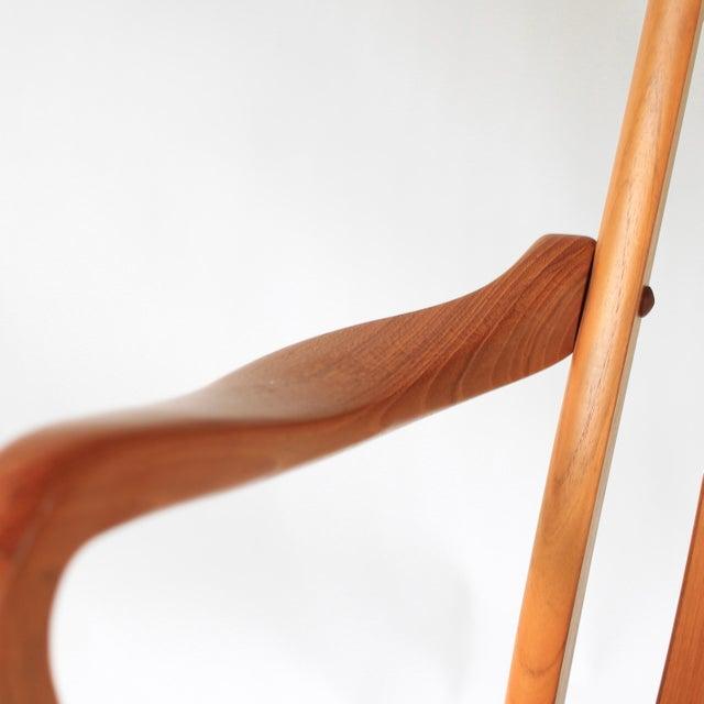 Teak 1960s Mid Century Modern Schou Andersen Teak Dining Chairs - Set of 2 For Sale - Image 7 of 9