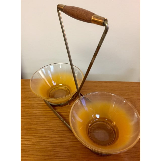 1970s Mid-Century Modern Petite Bowl Serving Set For Sale - Image 5 of 9