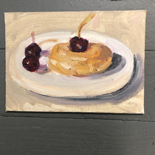 Gallery Wall Collection 3 Small Impressionist Still Life Paintings For Sale - Image 4 of 6