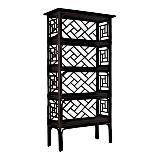Chippendale Etagere - Black For Sale