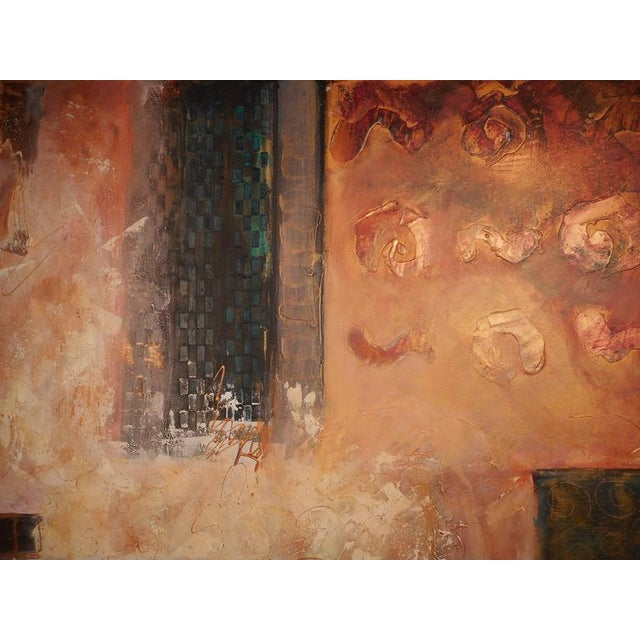 J. Steven Manolis J. Stevens Contemporary Abstract Painting For Sale - Image 4 of 7