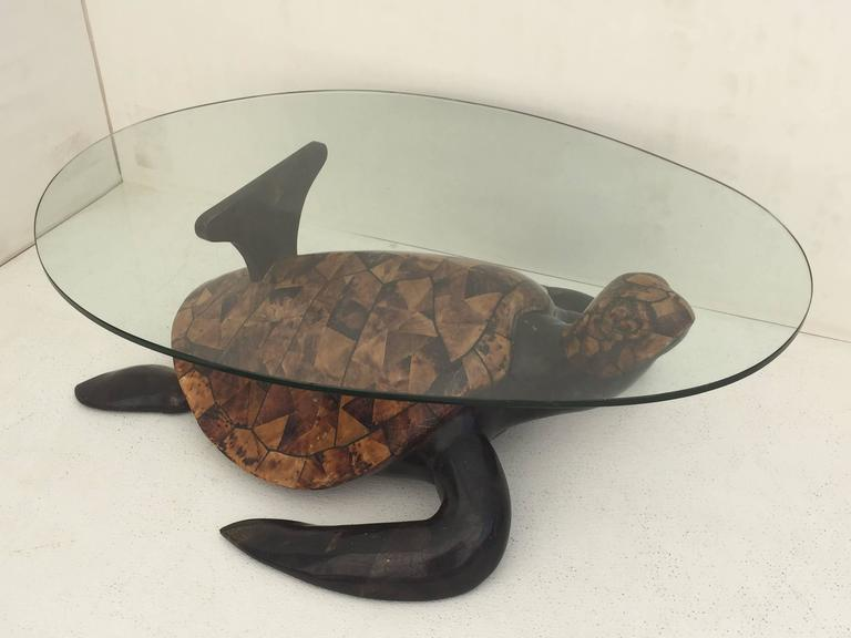 Tessellated Coconut Shell Turtle Coffee Table   Image 8 Of 10