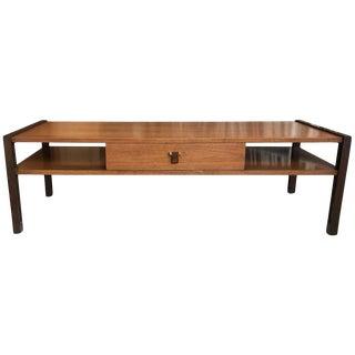 Edward Wormley for Dunbar Mahogany Coffee Table For Sale