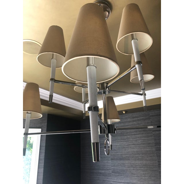 Contemporary Jonathan Adler Ventana Two-Tier Chandelier For Sale - Image 3 of 5