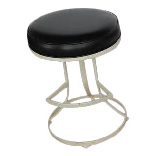 Mid-Century Shaver Howard Swivel Stool
