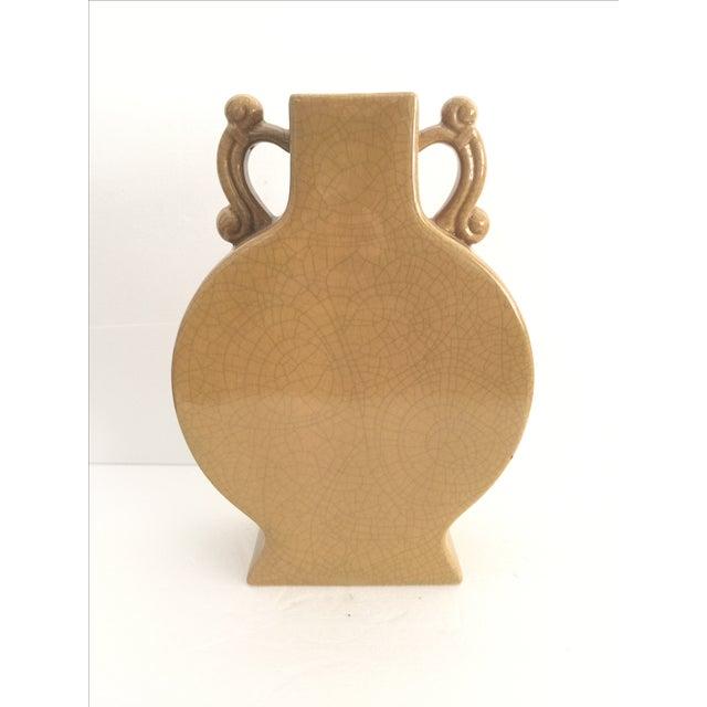 Large Mustard Gold Vase Chairish