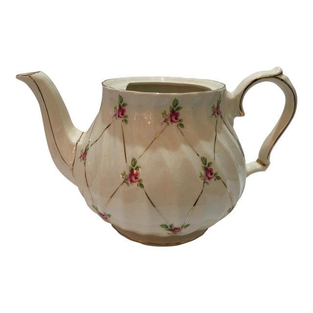 English Sadler Porcelain Teapot For Sale