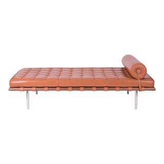 1980s Mies Van Der Rohe Knoll Barcelona Daybed For Sale