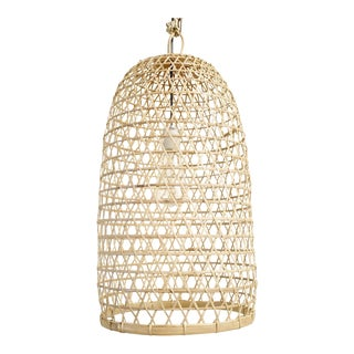 Bamboo Fish Basket Lantern Medium