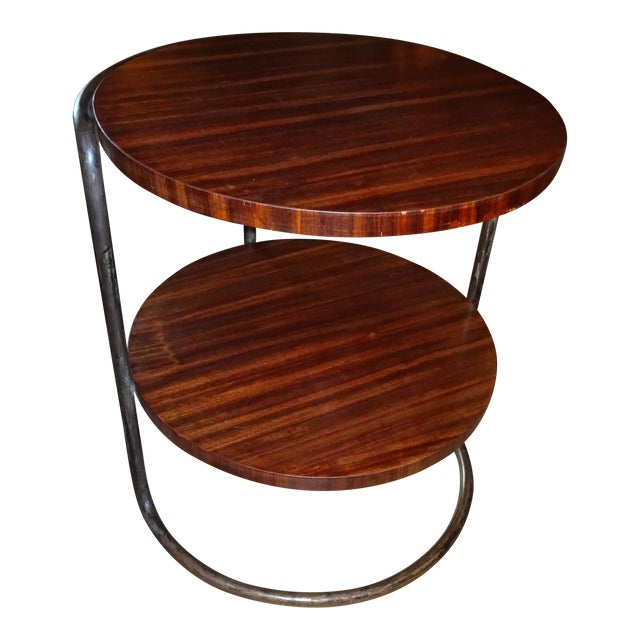 Art Deco French Side Table For Sale