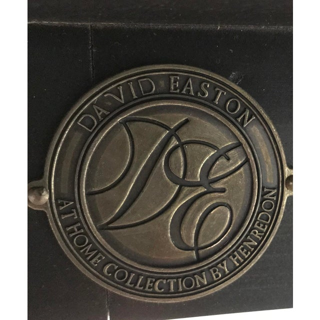 Metal David Easton for Henredon Furniture Dining Table For Sale - Image 7 of 12