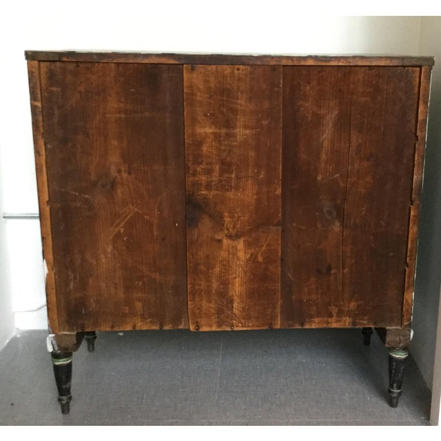 Geometric Hand Painted Antique Chest of Drawers - Image 6 of 10