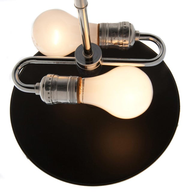 Pair of Large Chrome Cylinder Lamps by George Kovacs, Circa 1970s For Sale - Image 9 of 10
