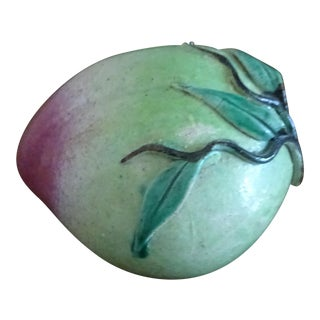 Chinese Altar Fruit Porcelain Peach For Sale