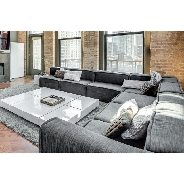 boconcept carmo modern sectional sofa chairish. Black Bedroom Furniture Sets. Home Design Ideas