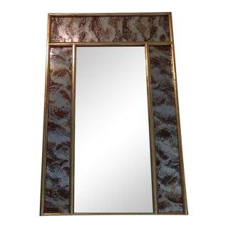Turner Faux Bamboo Eglomise Mirror