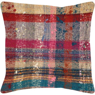 "Nalbandian - 1960s Turkish Hemp Pillow - 20"" X 20"" For Sale"