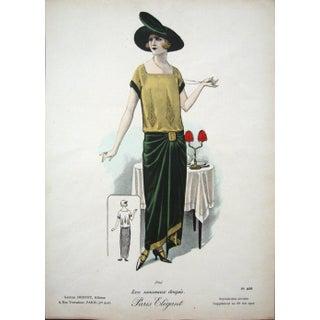 1920s Vintage Paris 7546 Print For Sale
