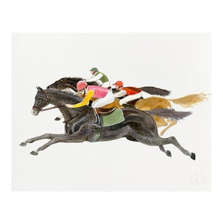 """A Race"" Giclée Art Print by Felix Doolittle - 8x10 For Sale"