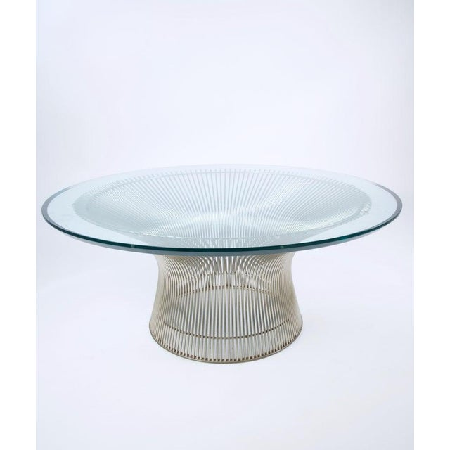 Knoll 1960s Mid-Century Modern Warren Platner for Knoll Coffee Table For Sale - Image 4 of 9