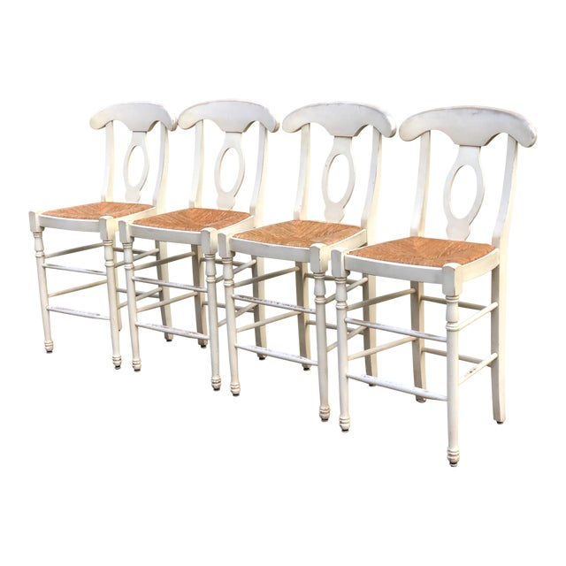 newest d8536 f2076 French Country Bar Stools - Set of 4
