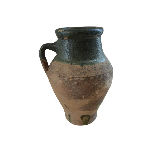 Greek Antique Koyroypa Pottery Vessel - Image 1 of 4