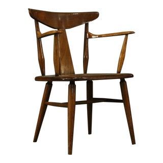 J.B. Van Sciver Co Vintage Captain's Chair For Sale