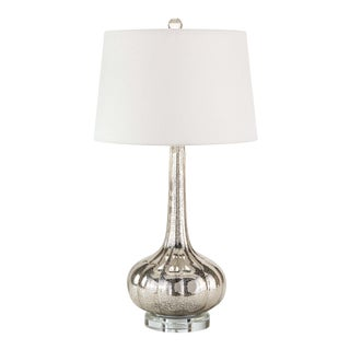 Milano Table Lamp in Antique Mercury For Sale
