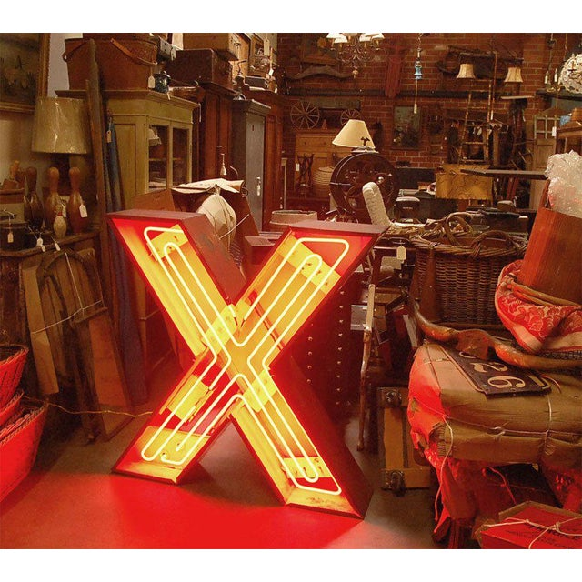 "Neon ""X"" For Sale - Image 9 of 9"