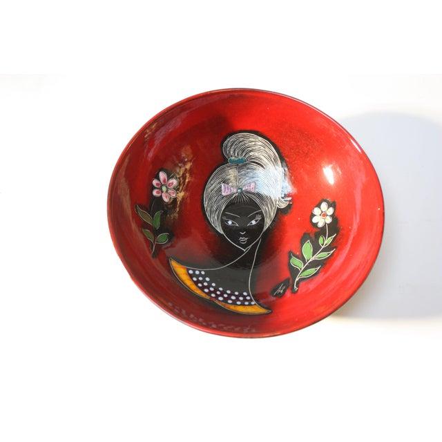 Mid Century Italian Modern Melior Enamel Bowl For Sale - Image 11 of 11