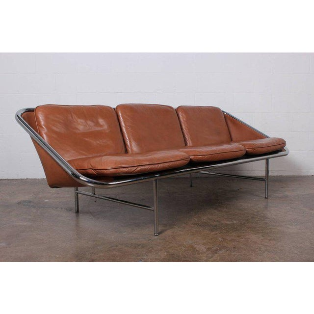George Nelson & Associates Pair of Sling Sofas by George Nelson For Sale - Image 4 of 10