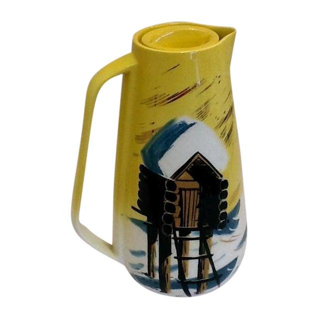Mid-Century Matthew Adams Ceramic Pitcher - Image 1 of 5