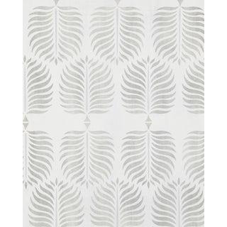 Serena & Lily Smoke/Fog Gray Granada Wallpaper For Sale