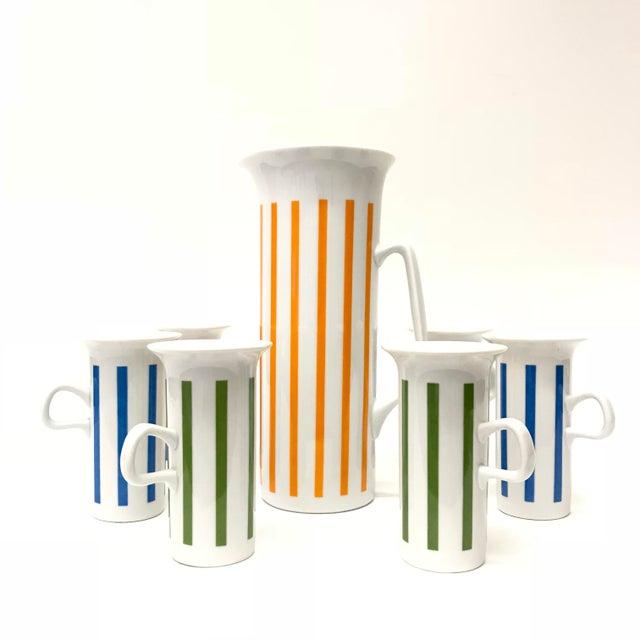 Lagardo Tackett Lagardo Tackett for Schmid Drink Ware - Set of 7 For Sale - Image 4 of 4