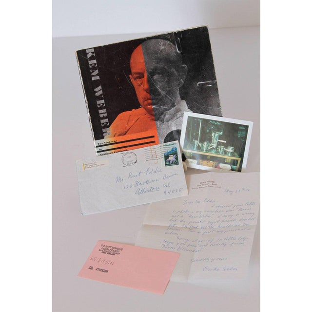 KEM Weber the Moderne in Southern California, 1920-1941 Monograph with Ephemera For Sale In Dallas - Image 6 of 11