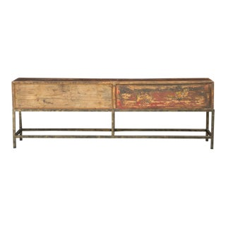19th Century Chinese Long Box For Sale