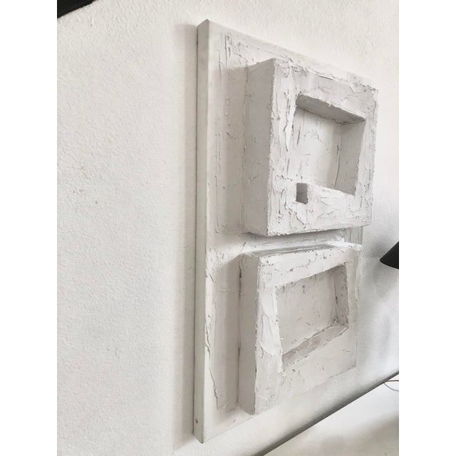 Contemporary Original Sculptural Canvas Wall Art For Sale - Image 3 of 6