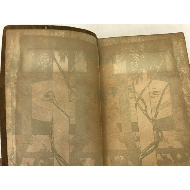 "Antique ""Lady of the Lake"" Soft Leather Bound Etruscan Edition Book For Sale - Image 9 of 13"