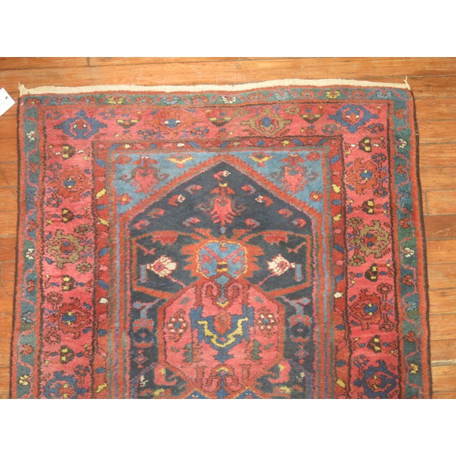 Vintager Persian Runner - 3′ × 16′ - Image 5 of 5