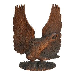 1880s Vintage Folk Carving of Eagle For Sale