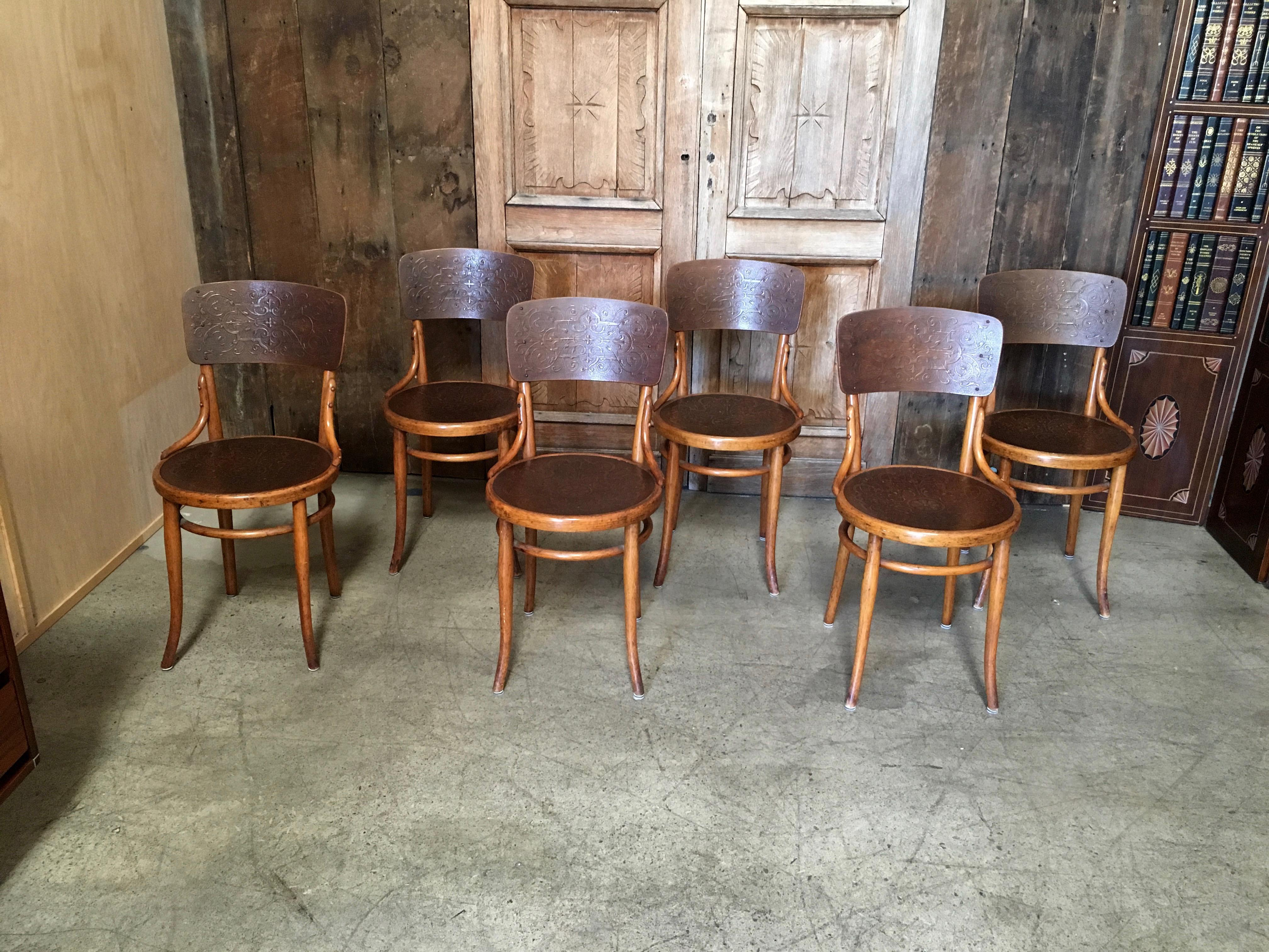 Thonet Bentwood Dining Chairs   Set Of 6 For Sale   Image 11 Of 13
